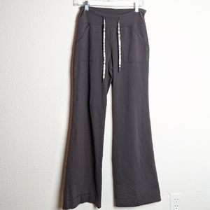 Lululemon still pant black brown pants size 4 RARE